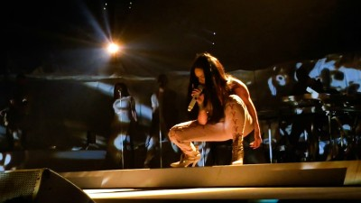 Rihanna Live At Barclay's: On Winning Tickets and Unbridled Bliss
