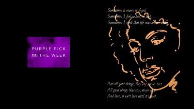 "Purple Pick of the Week: ""Sometimes It Snows in April"""