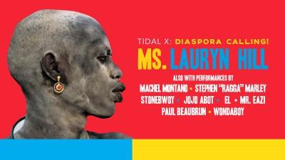 TIDAL X Diaspora Calling! Ms. Lauryn Hill