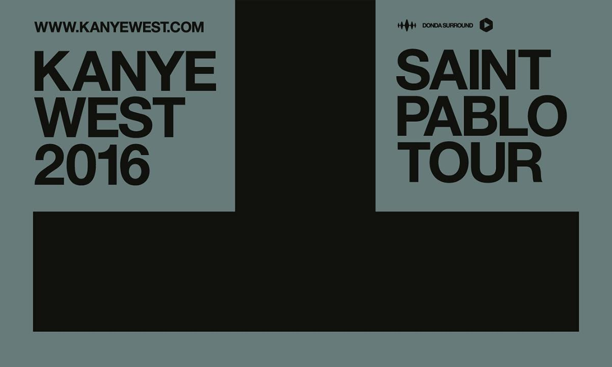 Kanye West Announces The Saint Pablo Tour