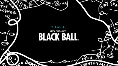 TIDAL X: Keep a Child Alive's Black Ball