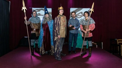 """Of Mice, Men and Drama: Eyelids Premiere """"Camelot"""""""