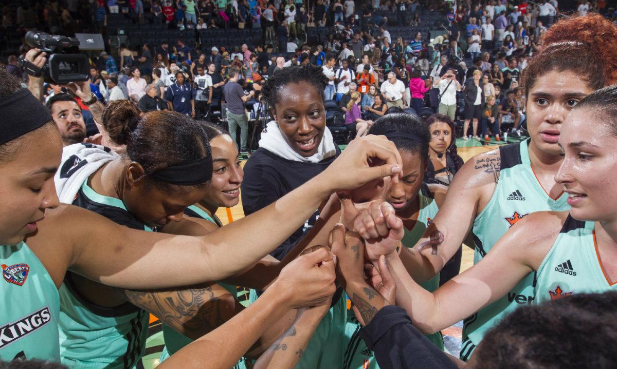 WNBA's New York Liberty Share Their Warm-Up Playlist