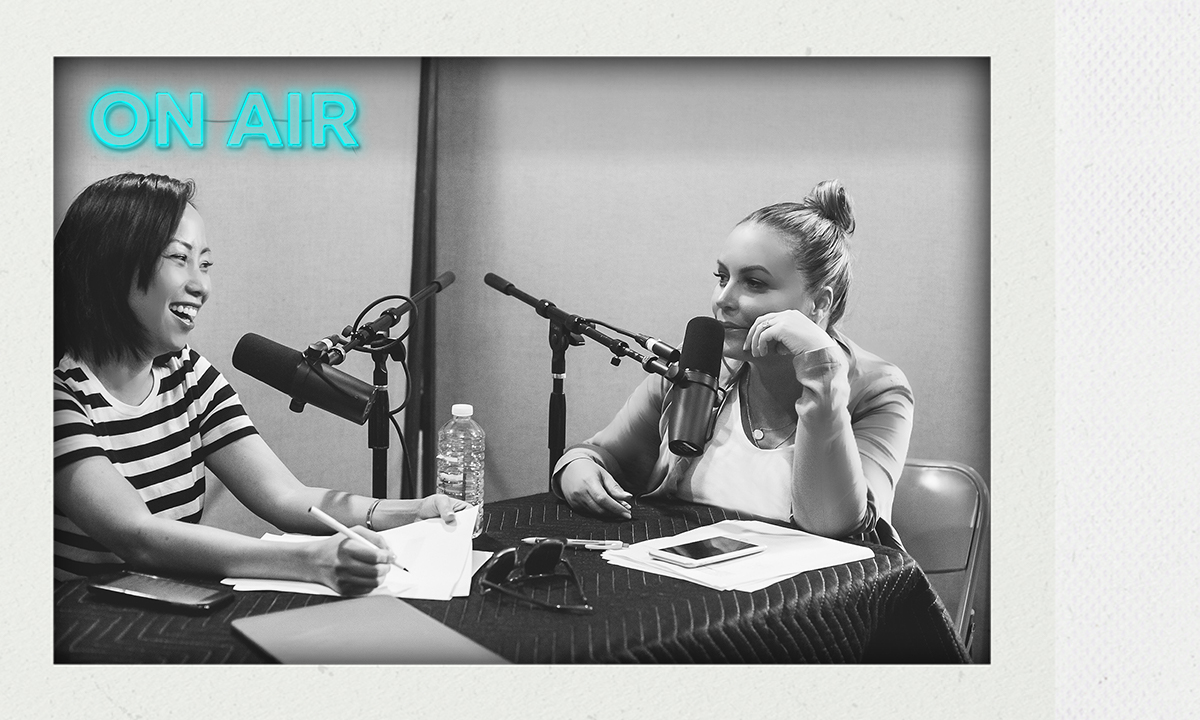 Angie Martinez & Miss Info Drop Life Gems On 'In Real Life' Ep. 5