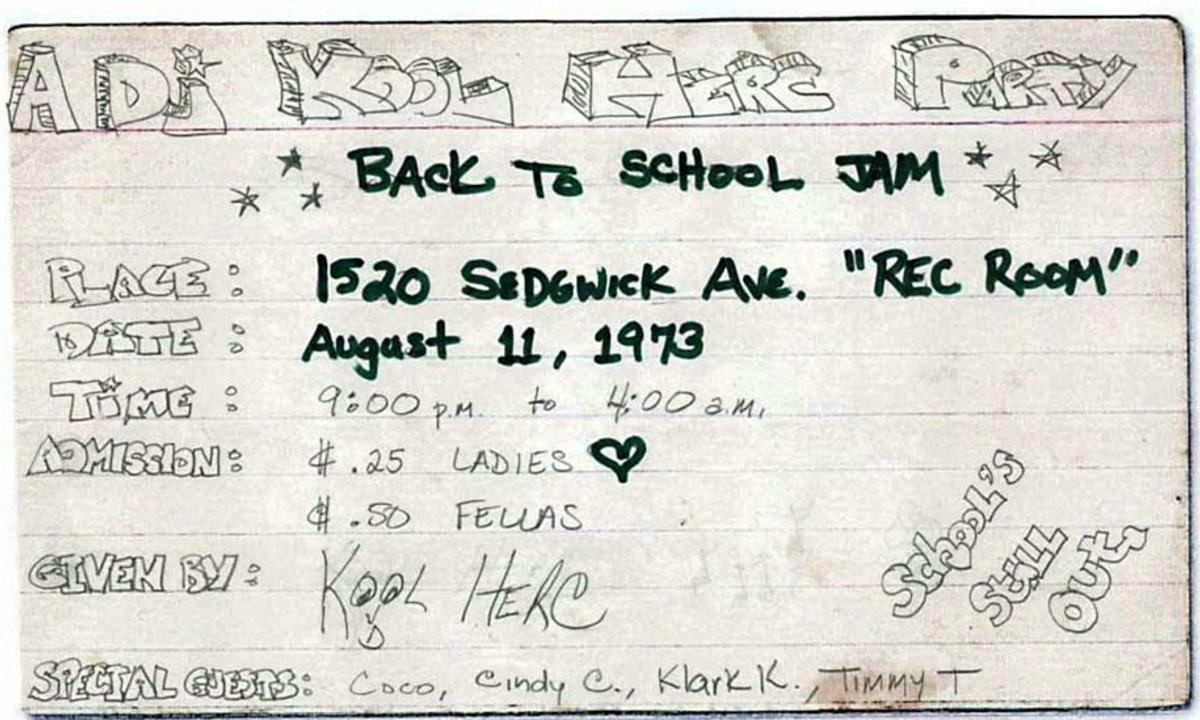 Happy 44th Birthday, Hip-Hop!