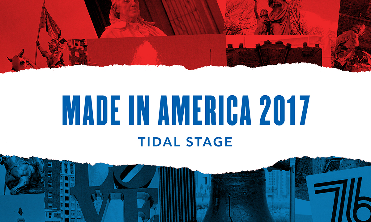 The Made in America Guide to the TIDAL Stage