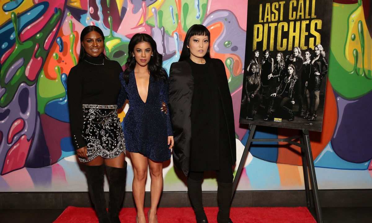 Pitch Perfect 3′s Ester Dean & Hana Mae Lee on Girl Squads & Shower Songs