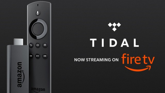 TIDAL Launches Amazon Fire TV App & Announces Compatibility with