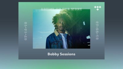 TIDAL Rising Artist of the Week: Bobby Sessions