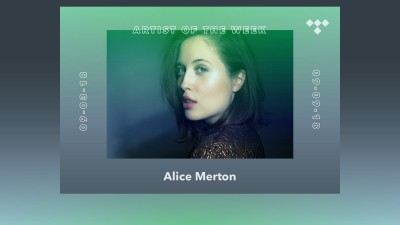 TIDAL Rising Artist of the Week: Meet Alice Merton