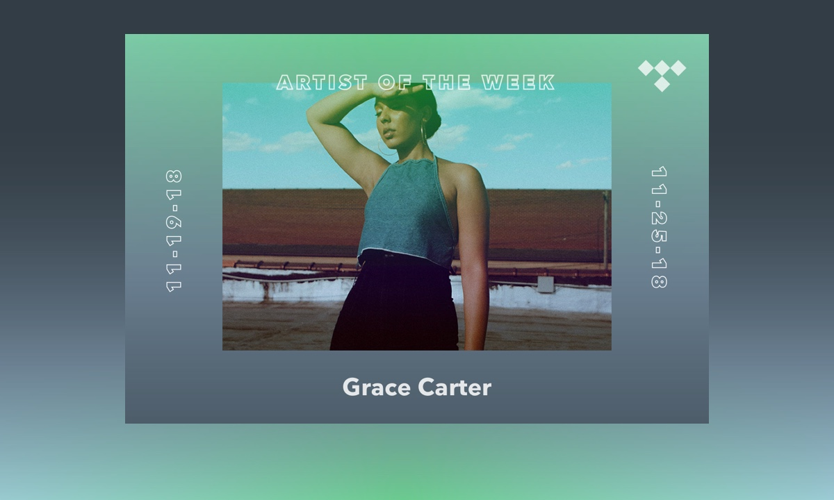 TIDAL Rising Artist of the Week: Meet Grace Carter