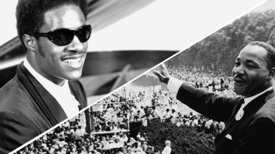 Stevie Wonder Remembers MLK